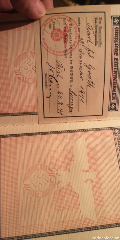 Militaria: Antiguo carnet del Partido Nacional Socialista SA - Foto 6 - 223138587