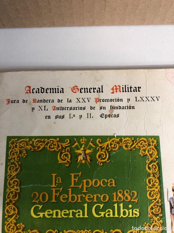 Militaria: Academia general militar de zaragoza 1967 20 de febrero jura de bandera - Foto 2 - 224453806
