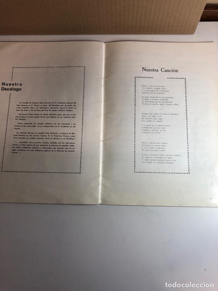 Militaria: Academia general militar de zaragoza 1967 20 de febrero jura de bandera - Foto 6 - 224453806