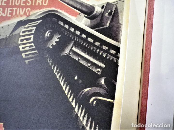 Militaria: Cartel enmarcado guerra civil - Foto 3 - 224585516