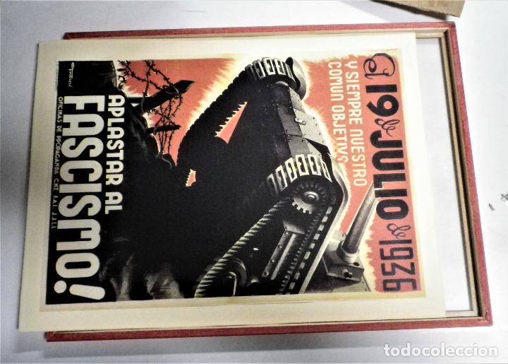 Militaria: Cartel enmarcado guerra civil - Foto 4 - 224585516