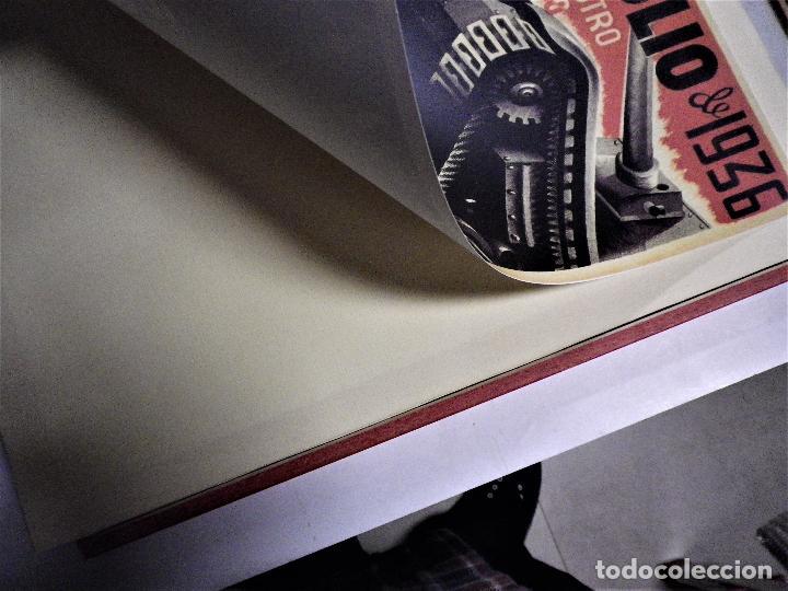 Militaria: Cartel enmarcado guerra civil - Foto 5 - 224585516