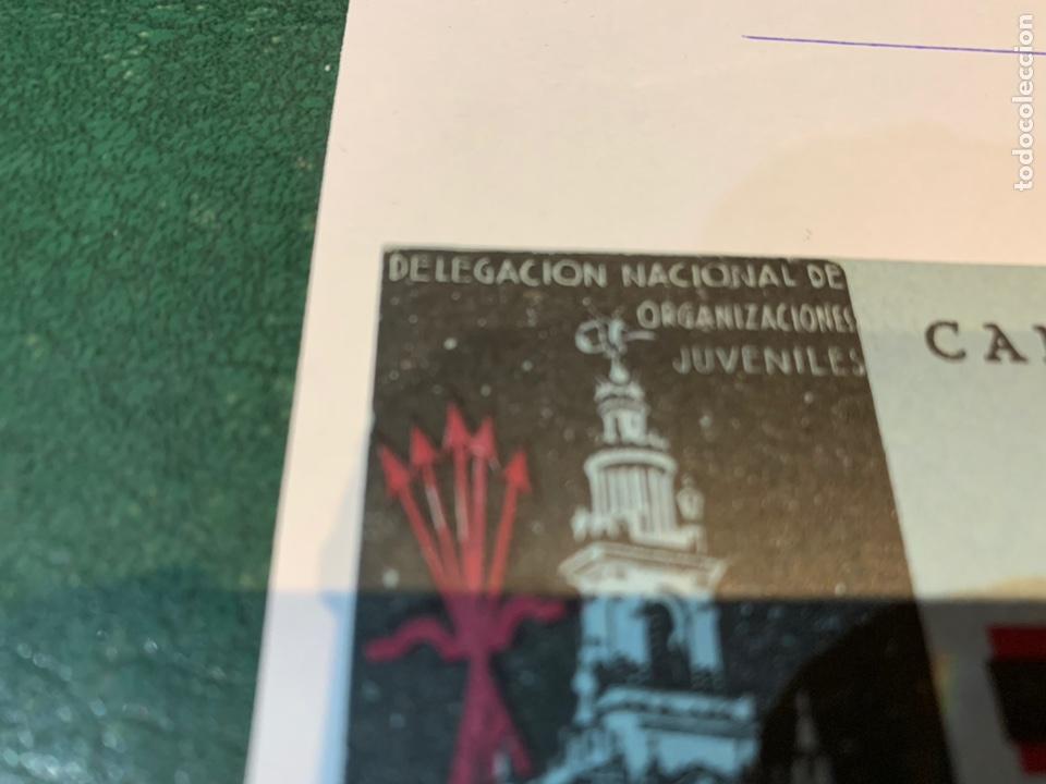 Militaria: Postal Campamento Nacional 29 Octubre Stadivm de Sevilla OJE - Frente Juventudes - Falange - - Foto 8 - 225029461