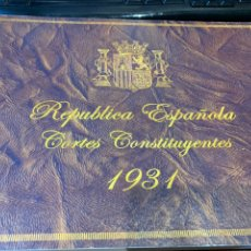 Militaria: LIBRO - REPUBLICA ESPAÑOLA - CORTES CONSTITUYENTES 1931. Lote 225828950