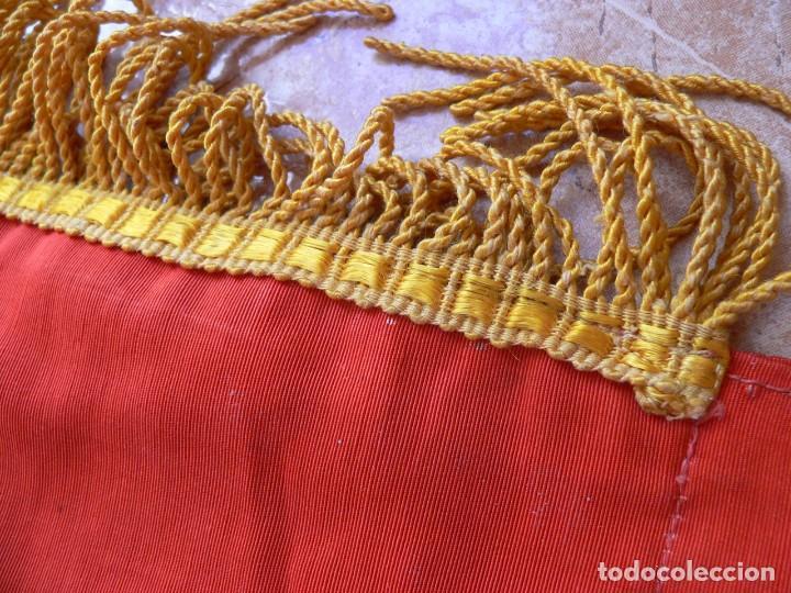 Militaria: URSS AUTENTICA BANDERA SOVIÉTICA (TAMAÑO GRANDE) Tela satinada, bordada - Foto 13 - 226123635