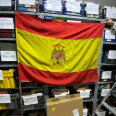 Militaria: BANDERA. ESPAÑA. AGUILA DE SAN JUAN. ESTADO ESPAÑOL. MEDIDAS APROX.: 1.40 X 1 METROS. VER. Lote 226245625