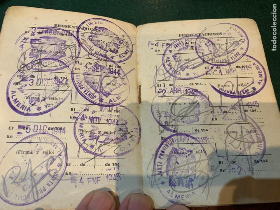 Militaria: Raro carnet de Libertad Vigilada 1941 - Foto 4 - 231099460