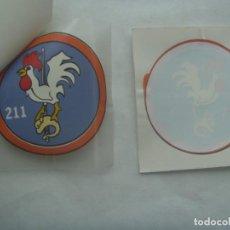 Militaria: AVIACION : PEGATINA DEL 211 ESCUADRON . LEER DESCRIPCION. Lote 244561550