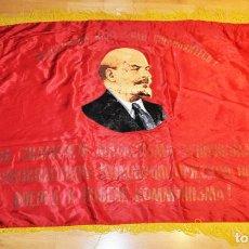 Militaria: BANDERA SOVIETICA ¡PROLETARIOS DE TODOS LOS PAÍSES .URSS. Lote 232224915