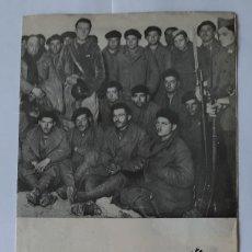 Militaria: FOLLETO EDITADO POR JUNTA DELEGADA DEFENSA MADRID. PRISIONEROS ITALIANOS BATALLA GUADALAJARA. (RARO). Lote 234277105