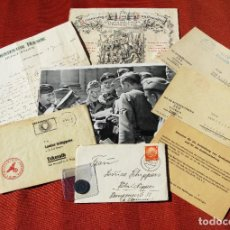 Militaria: COLECCIÓN DE TARJETA, CARTAS, FOTOGRAFÍA (ÉPOCA NAZI) Y DOCUMENTOS (POSGUERRA)-ALEMANIA-SALIDA 1,00€. Lote 234389850