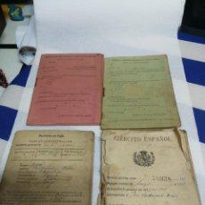 Militaria: CARTILLA MILITAR DE TROPA DEL EJERCITO ESPAÑOL, DE 1918. Lote 234776940