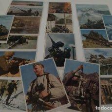 Militaria: POSTALES A TODO COLOR WERMACHT - HEER - LUTWAFFE - KRIENGSMARINE. Lote 234940245