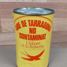 Militaria: AIRE DE TARRAGONA NO CONTAMINAT BOTE PUBLICIDAD POLITICA VOTA SOCIALISTA - SOCIALISTES DE CATALUNYA. Lote 235255535