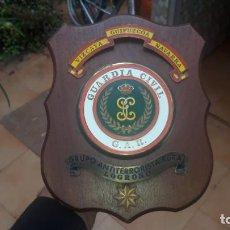 Militaria: GAR METOPA DEL CUARTEL DE LA COMANDANCIA DEL GAR DE NAVARRA MUY RARA!GUARDIA CIVIL. Lote 237159725