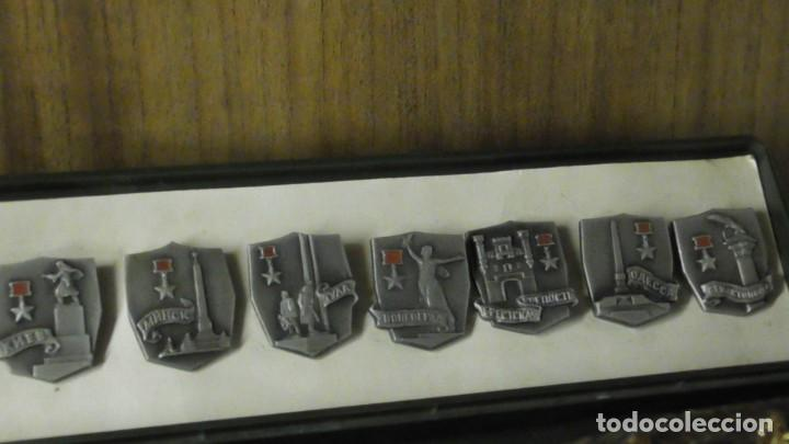 Militaria: Un conjunto de 11 insignias - la ciudad de los Héroes / URSS - de Rusia / Unión Soviética 1977 - Foto 7 - 240471720