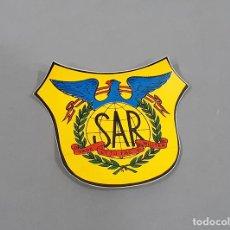 Militaria: ADHESIVO POSIBLEMENTE DE CASCO DE LOS AÑOS 60 DEL SAR SERVICIO AEREO DE RESCATE - EJERCITO DEL AIRE. Lote 240929145