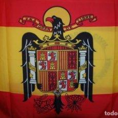 Militaria: BANDERA DE ESPAÑA PRECONSTITUCIONAL AGUILA DE SAN JUAN. Lote 243873125
