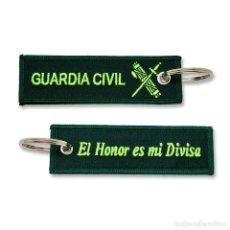 Militaria: LLAVERO DE EMPLEO DE GUARDIA CIVIL BORDADO GRAN CALIDAD. Lote 244811290