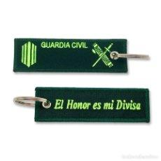 Militaria: LLAVERO DE EMPLEO DE CABO DE LA GUARDIA CIVIL BORDADO GRAN CALIDAD. Lote 244811545