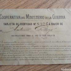 Militaria: CARNET MILITAR EJERCITO ÉPOCA ALFONSO XIII. GUERRA MARRUECOS.LEGION.INFANTERIA.ARTILLERIA.FRANCO.REY. Lote 246213790