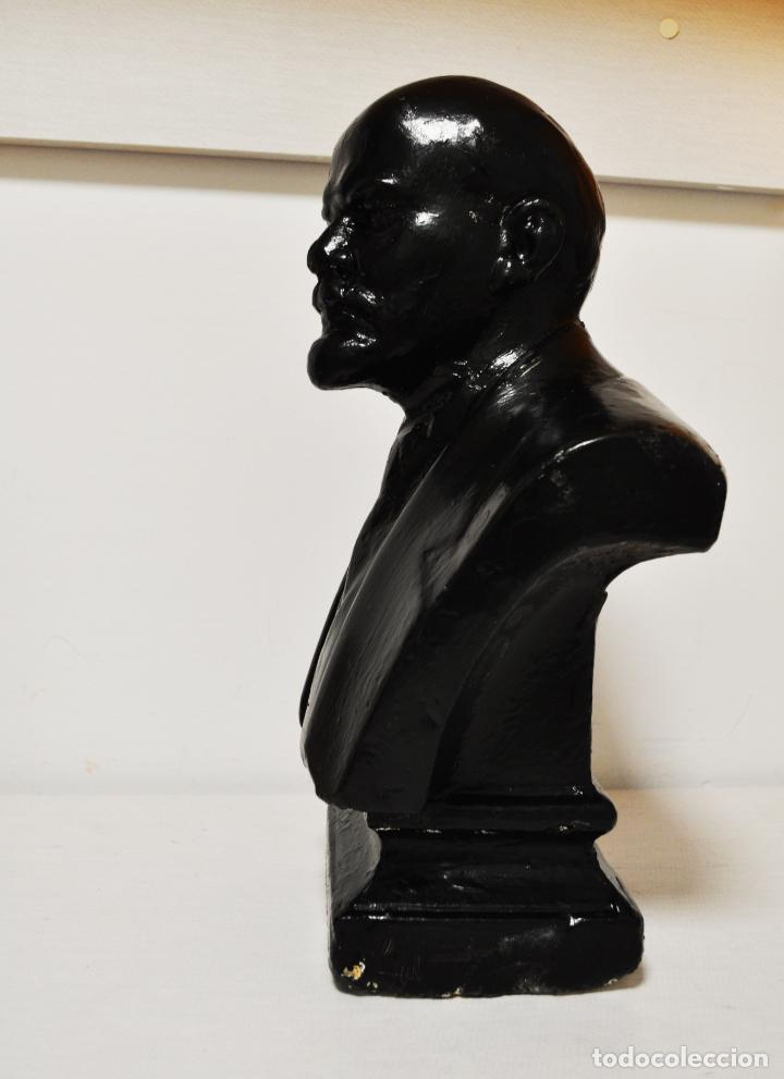 Militaria: Busto sovietico Lenin..URSS Estado en las fotos .MedidAS-42/24 cm - Foto 2 - 246996170