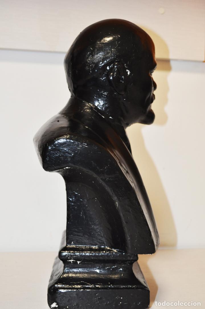 Militaria: Busto sovietico Lenin..URSS Estado en las fotos .MedidAS-42/24 cm - Foto 3 - 246996170