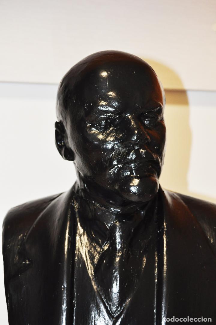 Militaria: Busto sovietico Lenin..URSS Estado en las fotos .MedidAS-42/24 cm - Foto 4 - 246996170