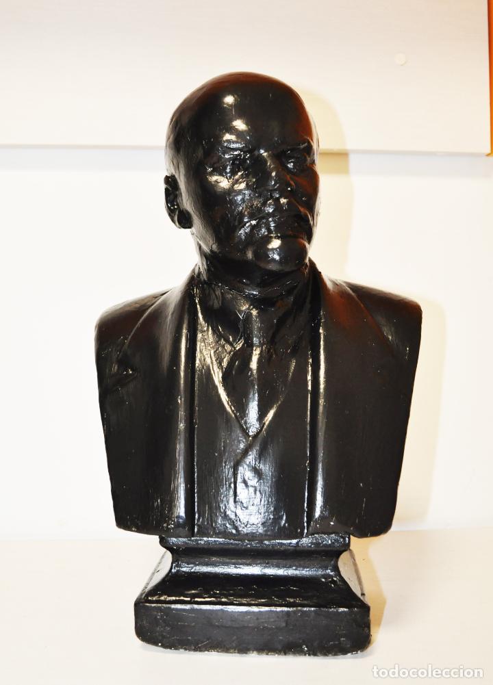 Militaria: Busto sovietico Lenin..URSS Estado en las fotos .MedidAS-42/24 cm - Foto 5 - 246996170