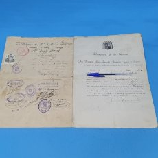 Militaria: CERTIFICADO DE CONCESIÓN DE RETIRO - MINISTERIO DE LA GUERRA - 1931. Lote 250142895