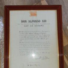 Militaria: CONCESION MERITO AGRICOLA EPOCA ALFONSO XIII. Lote 251140045