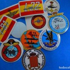Militaria: EIO. LOTE DE PEGATINAS. MARINA DE GUERRA. ARMADA ESPAÑOLA.. Lote 252295605