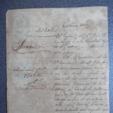 Militaria: GUERRA CUBA MANUSCRITO AÑO 1887 SOLICITUD REALIZAR PRÁCTICAS DE TIRO. Lote 253129200
