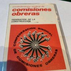 Militaria: CARNET SINDICATO CCOO AÑO 1977. Lote 253554280