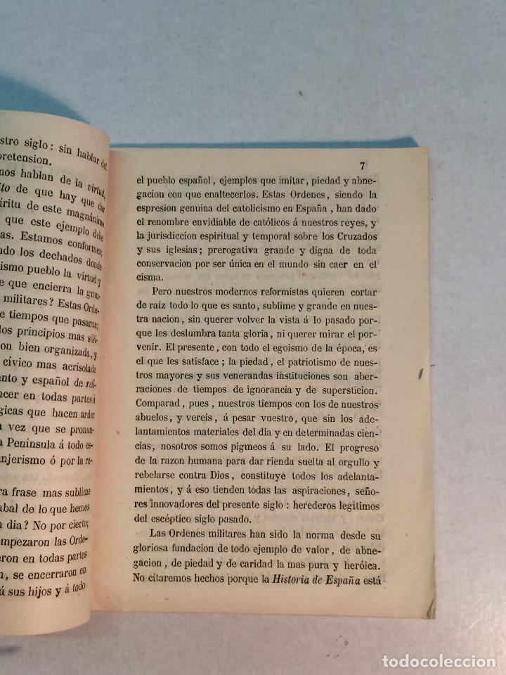 Militaria: Hernan García: Defensa de las órdenes militares de Calatrava, Santiago, Alcántara y Montesa (1862) - Foto 2 - 253582290