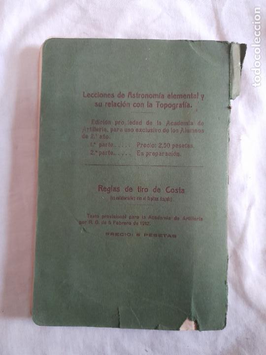 Militaria: MANUAL DEL ARTILLERO TELEMETRISTA, MARZO 1920 - Foto 6 - 255579525