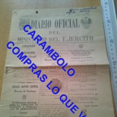 Militaria: DIARIO OFICIAL MINISTERIO DEL EJERCITO 23 MARZO 1974 U34. Lote 257517640