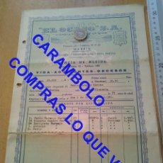 Militaria: EL OCASO POLIZA MERIDA 1960 U34. Lote 257520360