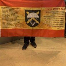 Militaria: EXELENTE BANDERA DE LA BRIPAC GRANDES DIMENSIONES. Lote 259054585
