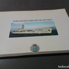 Militaria: SOBRE EL PORTAAERONAVES PRINCIPE DE ASTURIAS Y EL DEDALO.24 PÁGINAS DEDICADO.AÑO 1988. Lote 260745665