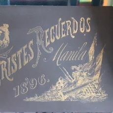 Militaria: TRISTES RECUERDOS 1896 MANILA. Lote 262105305