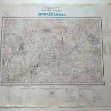 Militaria: PLANO MORALZARZAL. HOJA 508 (CERCEDILLA). CARTOGRAFÍA MILITAR, T. SERVICIO GEOGRÁFICO EJÉRCITO, 1954. Lote 262927650