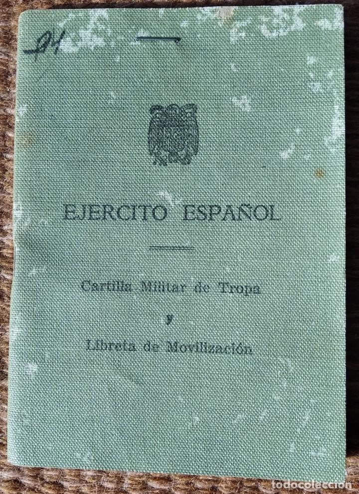 EJERCITO ESPAÑOL - CARTILLA MILITAR - HELLIN - ALBACETE 1951 (Militar - Propaganda y Documentos)