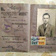 Militaria: LICENCIA DE CONDUCIR ALEMANA , AÑO 1938, EPOCA III REICH. Lote 264472109