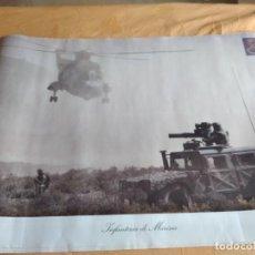 Militaria: G-79 POSTER MILITAR EL DE FOTO. Lote 268859394