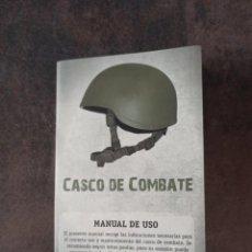 Militaria: MANUAL DE USO CASCO DE COMBATE COBAT EJERCITO ESPAÑOL. Lote 268862394