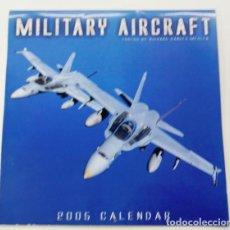 Militaria: CALENDARIO-POSTER DE AVIACIÓN. Lote 269760683