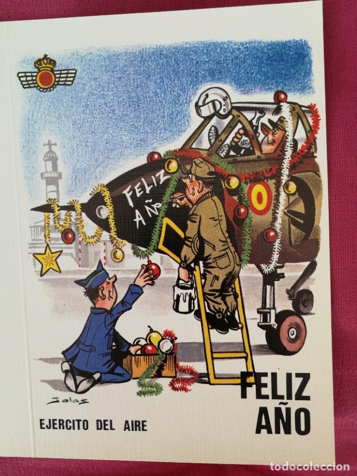 POSTAL MILITAR DE NAVIDAD (Militar - Propaganda y Documentos)