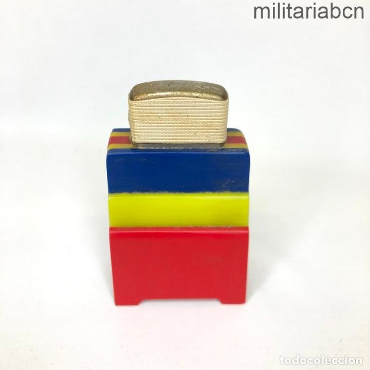 Militaria: Encendedor con los colores de la Bandera Republicana. Segunda República y Guerra Civil. - Foto 2 - 269829338