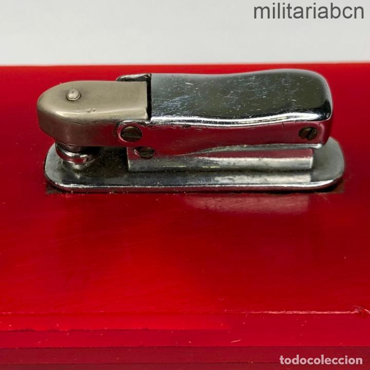 Militaria: Encendedor con los colores de la Bandera Republicana. Segunda República y Guerra Civil. - Foto 3 - 269830258